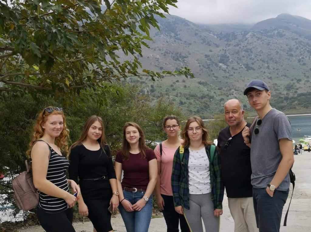 Žirgininkystės verslo darbuotojo specialybės mokiniai mėgaujasi stažuote Kretoje