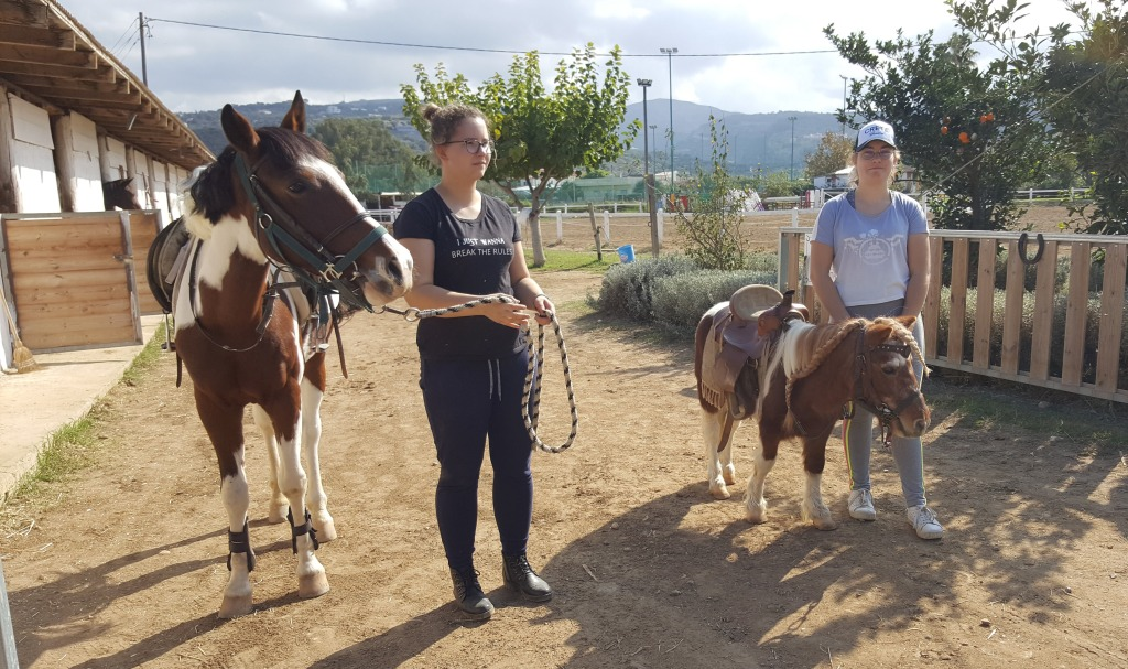 Žirgininkų praktika Kretoje prasidėjo
