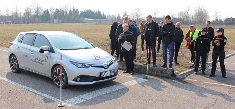 Prizinė vieta Kupiškyje organizuotame eismo dienos konkurse