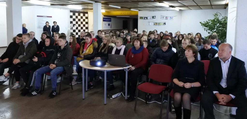 Europos profesinių gebėjimų savaitės renginiai RTVMC Šeduvos TVM skyriuje
