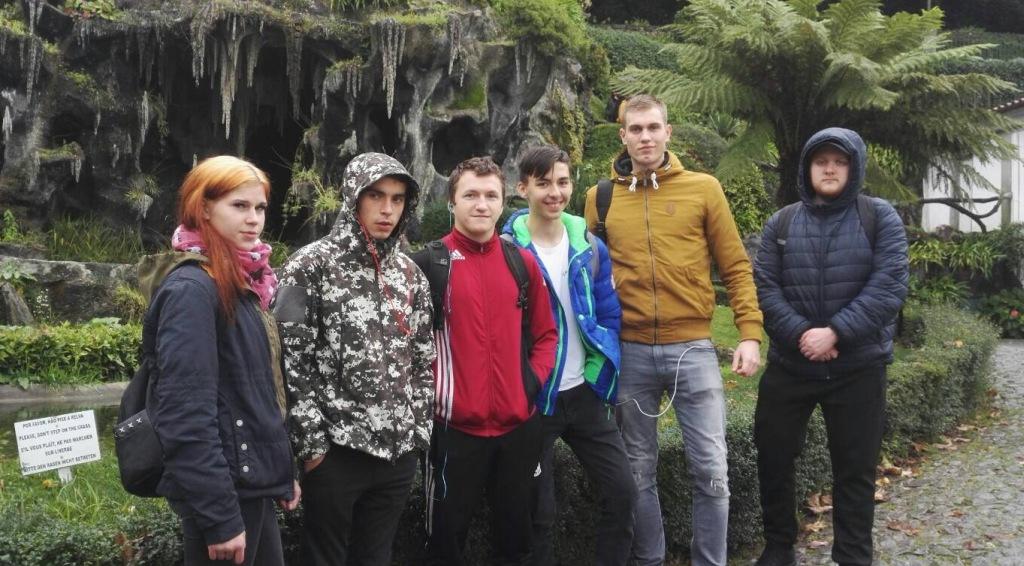 Mokiniai tęsia praktiką Portugalijoje