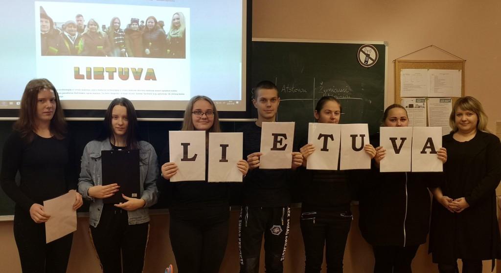 """Šeduvos TVM Skyriaus mokiniai konferencijoje """"Laiko ženklai"""""""