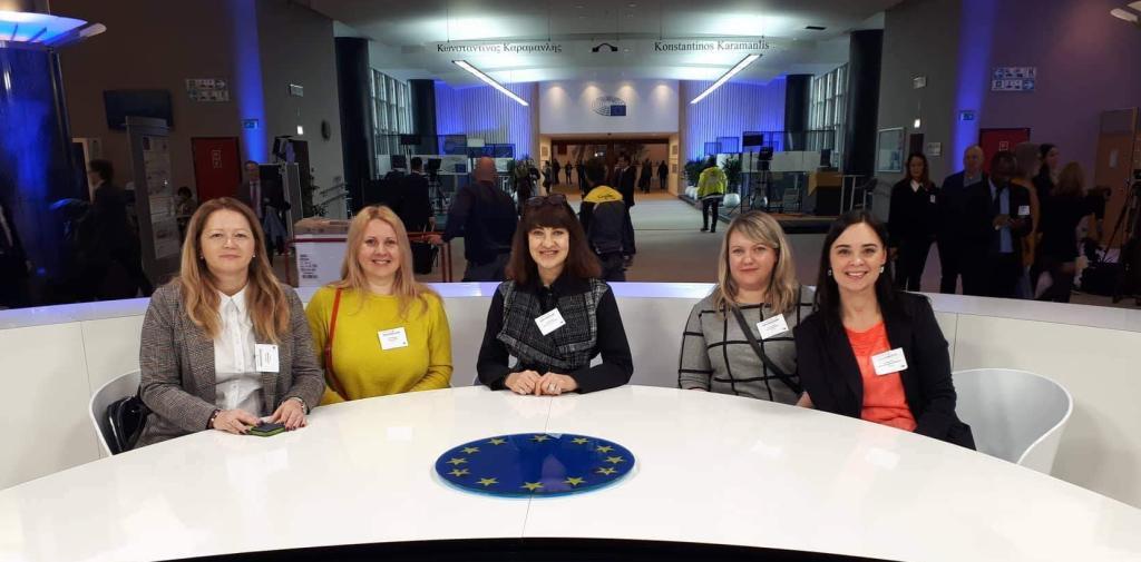 Mokyklų – Europos Parlamento ambasadorių seminaras Briuselyje
