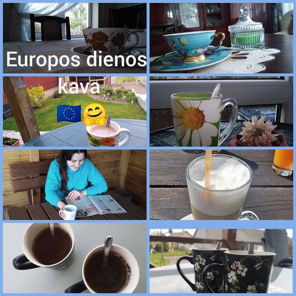 Europos dieną – kvietimas kavos ir egzaminas