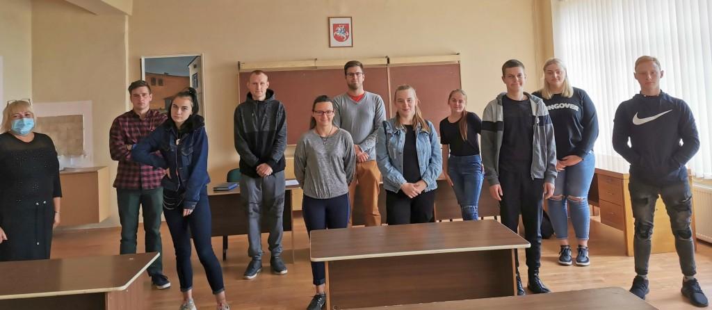 Išrinkta nauja mokinių taryba